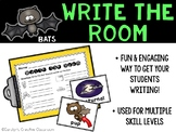 October Write the Room - All about Bats Write the Room