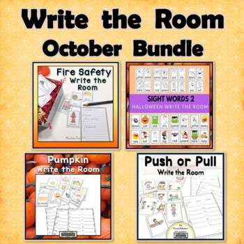 October Write the Room Bundle