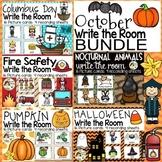 October Write the Room - Columbus, Fire Safety, Pumpkin, Nocturnal, Halloween