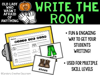 October Write the Room - Old Lady Who Wasn't Afraid of Anything Write the Room