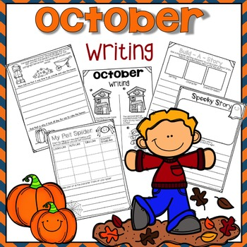 Print & Go October Writing Packet