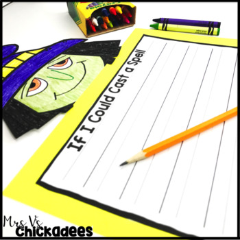 October Writing Activity: Halloween Bulletin Board Display