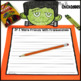 October Writing Activity: Halloween Bulletin Board Display