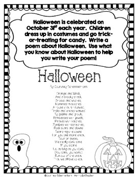 October Writing Prompts/Assessments - 3rd, 4th, 5th Grade {CCSS/TEKS Aligned}
