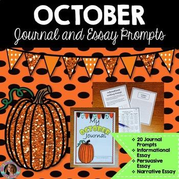 October Writing Bundle