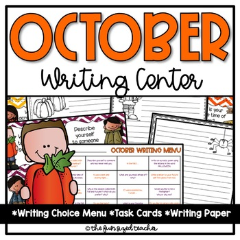 October Writing Center - Print and Go!
