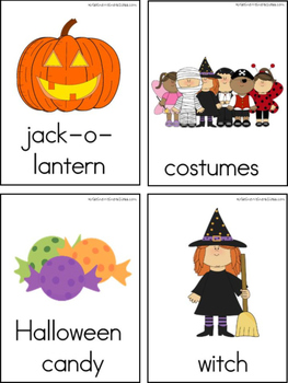October Writing Center Tools: Halloween Words