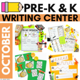 OCTOBER Preschool Writing Center - Printables and Activities
