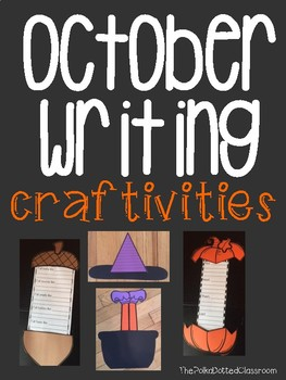October Writing Craftivities