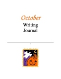 Writing Journal, October