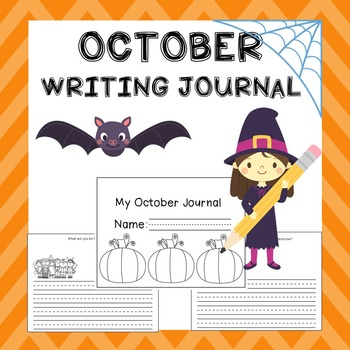 October Writing Activities / October Writing Journal