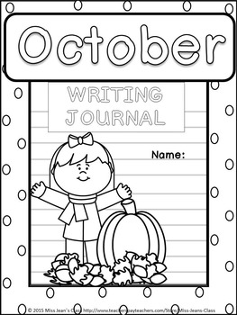 October Daily Writing Journal