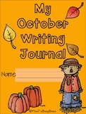 No Prep Monthly Writing Journal- October