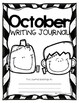 October Writing Journal- 22 NO PREP Differentiated Writing Pages