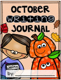 October Writing Journal {3 different levels}