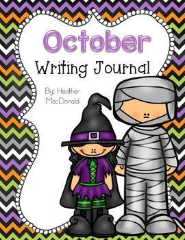October Writing Journal Covers