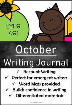 October Writing Pack
