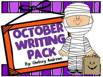 October Writing Pack {K-3)