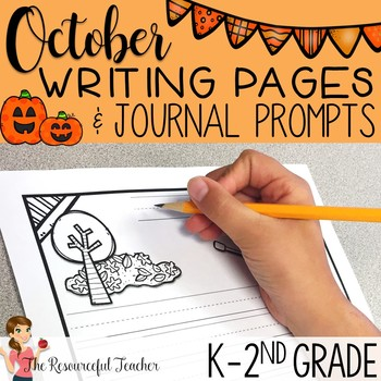 50+ October Writing Pages and Journal Prompts