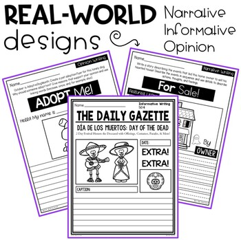 October Writing Prompts: Traditional & Real-World Formats