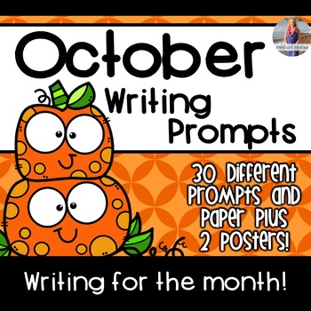 October Writing Prompts *30 prompts!*