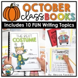 October Writing Prompts & Class Book Covers