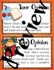 Fall Activities: October Writing Prompts, Graphic Organizers, and Posters