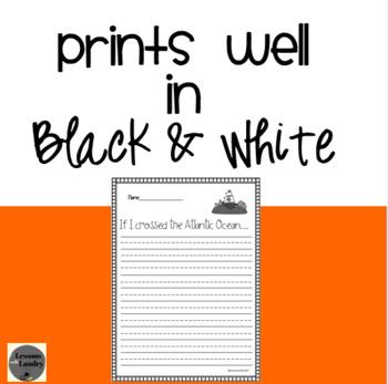 October Writing Prompts Kindergarten - 2nd Grade