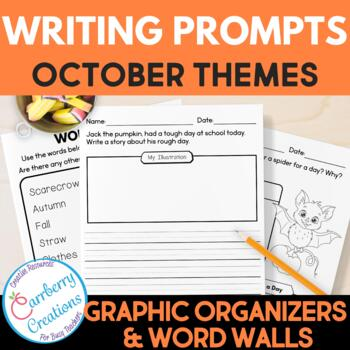 October Writing Prompts for Second Graders