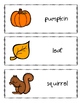 October Writing Prompts, Pages and Vocabulary Cards