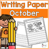 October Writing Prompts & Paper