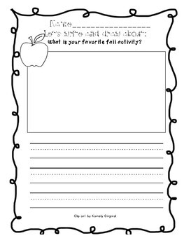 October Writing Prompts (Primary Grades!)