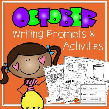 October Writing Prompts and Activities