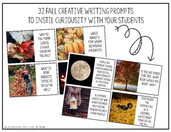 October Writing Prompts and Cards