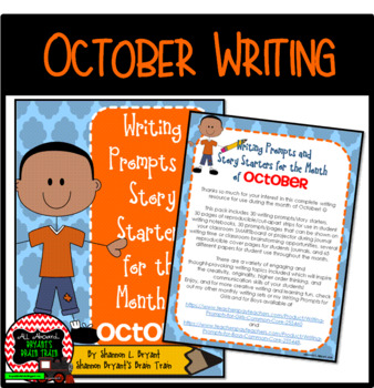 October Writing Prompts and Story Starters