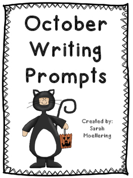 October Writing Prompts (fall fun, Halloween, and more!)