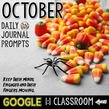 October Writing Prompts for Google Drive