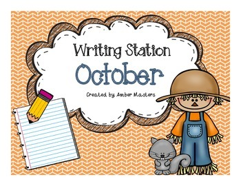 October Writing Station