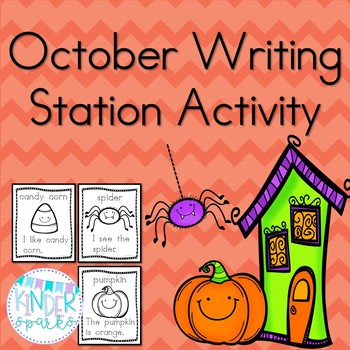#hallowdeals  October Writing Station