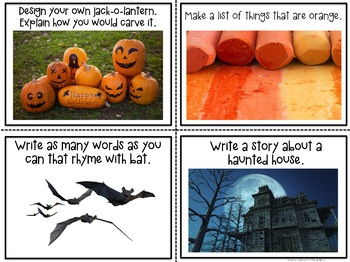 October Photo Writing Prompts