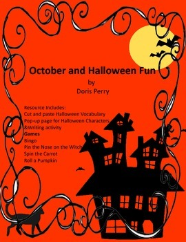 October and Halloween Resources