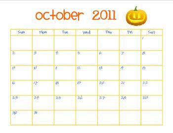 October calendar- jpg