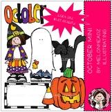 October clip art - Mini - by Melonheadz