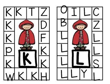 Alphabet Punch a Letter