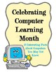 October is Computer Learning Month Poster Set