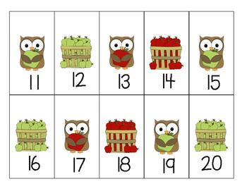 October or November Calendar Pieces