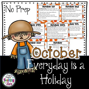 Everyday is a Holiday! October's Daily Holiday Cards