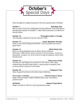 October's Special Days