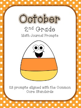 October/Fall 2nd Grade Common Core Math Journal Prompts