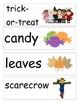 October/Halloween Word Wall